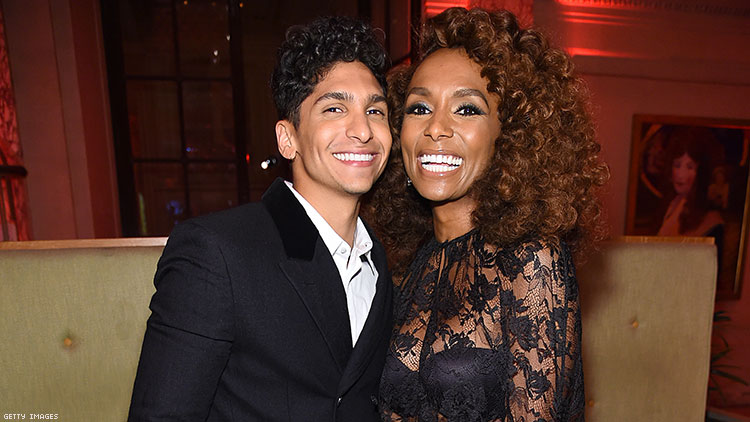 Angel Curiel and Janet Mock