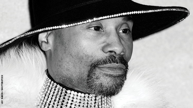close up of Billy Porter
