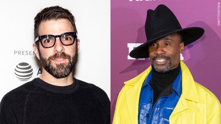 Billy Porter and Zachary Quinto