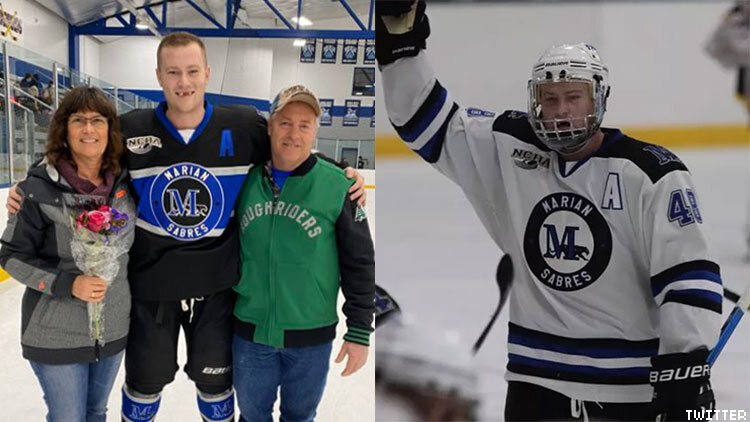 College Hockey Player Brock Weston Comes Out To Team
