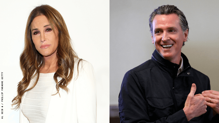 Is Caitlyn Jenner Running to Replace California Governor Gavin Newsom?