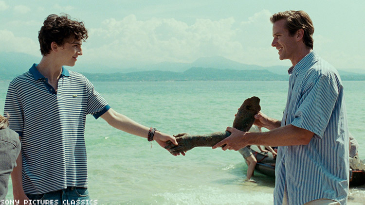 Call Me By Your Name still.