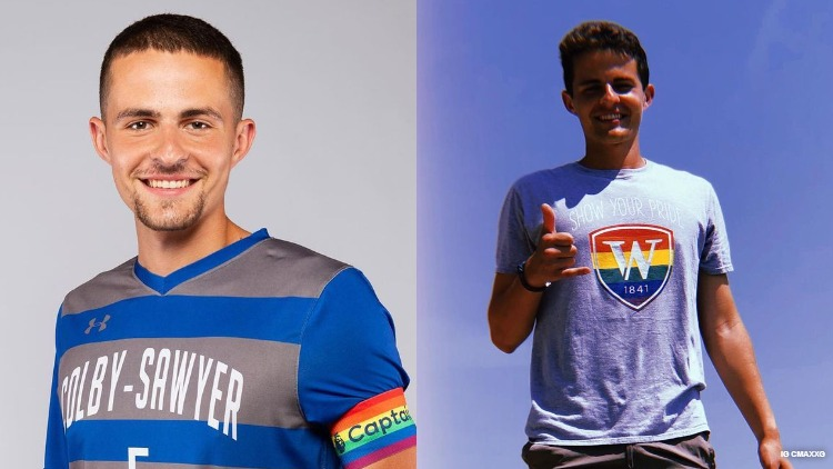 College Soccer Star Captain Couper Gunn Wears Pride Shirt, Shares Sweeting Coming Out Story