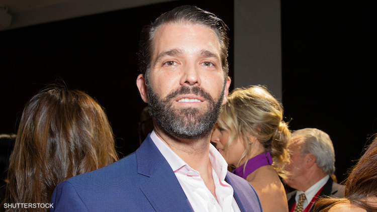 Donald Trump Jr. Says Every Bathroom Should Be Gender Neutral
