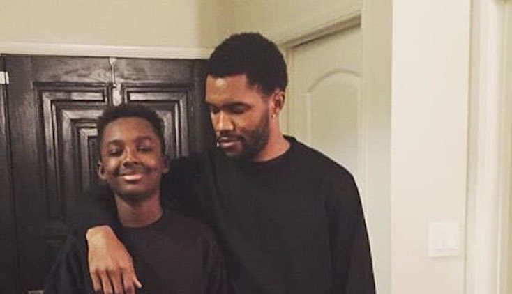 Frank Ocean and his brother Ryan Breaux