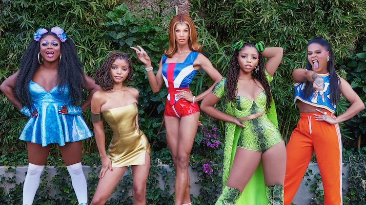 Chloe X Halle as Spice Girls