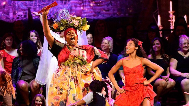 Alex Newell in Once On This Island