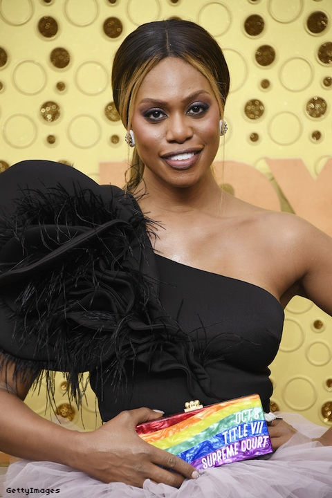 Laverne Cox at the 2019 Emmy's