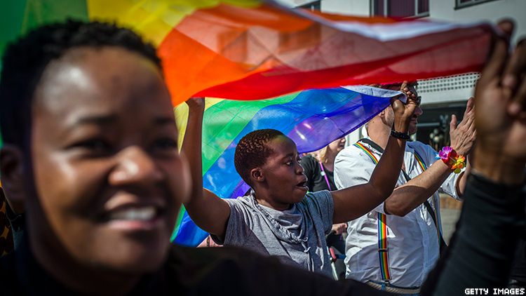 The upper legislative body in the African nation of Gabon voted to decriminalize sexual relations between persons of the same gender.
