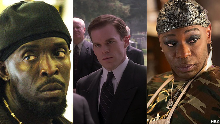 A triptych of queer HBO characters.