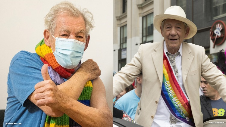 Sir Ian McKellan Among the First to Get Pandemic Vaccine