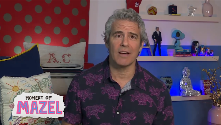 Andy Cohen from WWHL