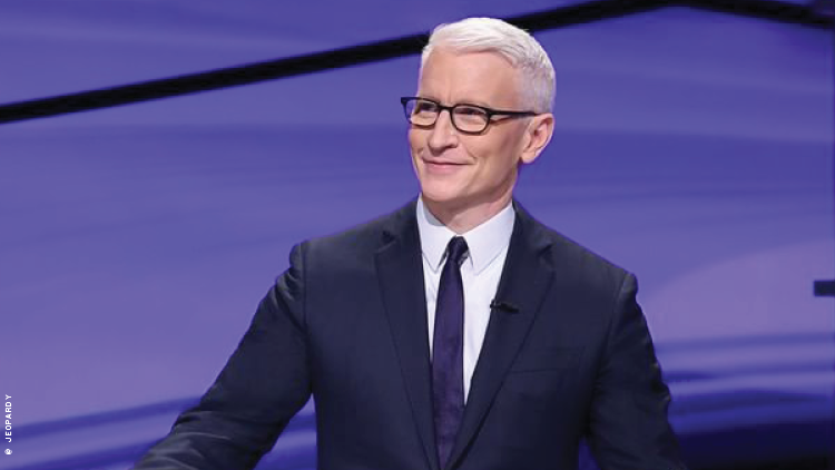 Anderson Cooper on Jeopardy