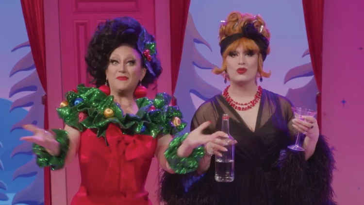Jinkx Monsoon and BenDeLaCreme