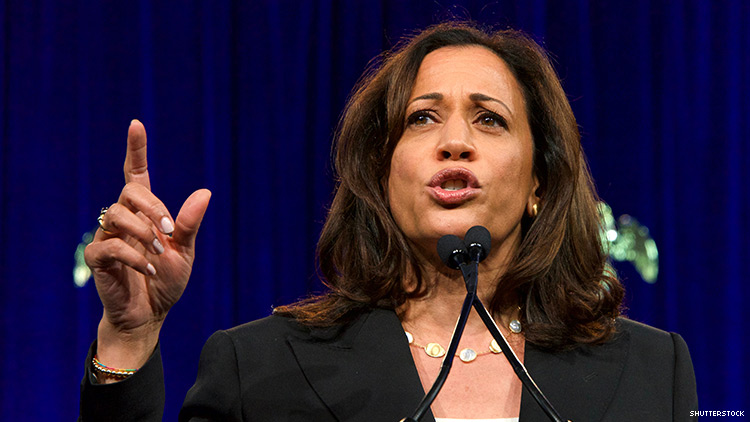 Kamala Harris Details Plan to 'Fight Tirelessly' For LGBTQ+ Rights