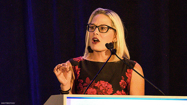 Kyrsten Sinema Is Only LGBTQ+ Lawmaker Who Hasn't Backed Impeachment