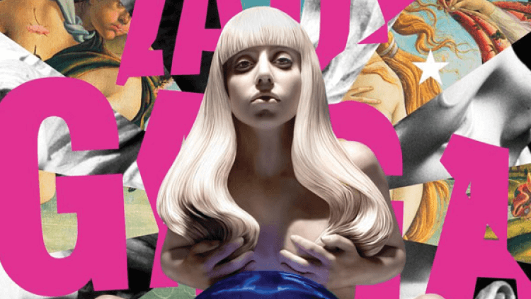 Lady Gaga on the cover of Artpop