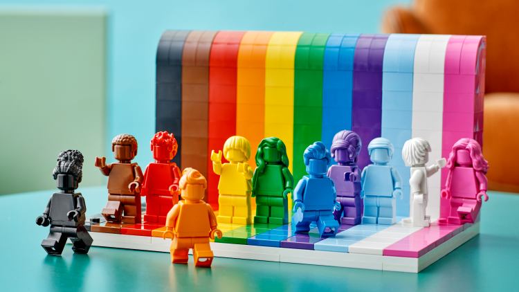 LEGO Announces LGBTQ+ 'Everyone is Awesome' Set for Pride