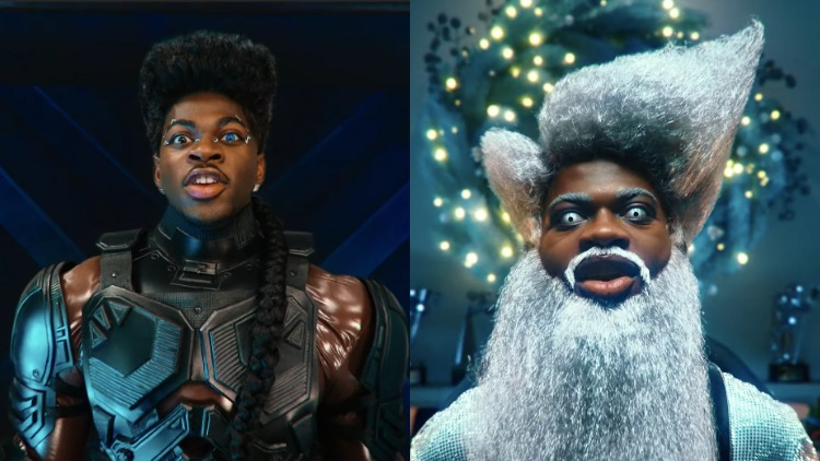 Lil Nas X Holiday music video