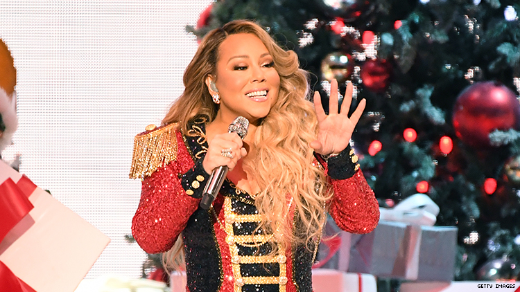 "Mariah Carey's 'All I Want For Christmas Is You"" Finally Hit Number One!"