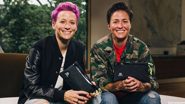 Rachael Rapinoe reveals how fraternal twin sister and Olympic and World Cup champ Megan Raninoe accidentally outed her to their mother while they were in college
