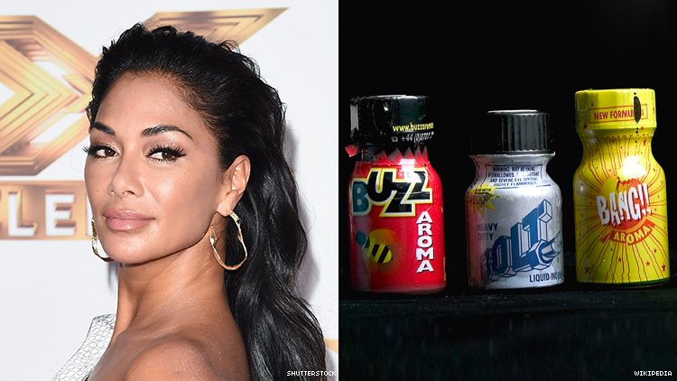 Nicole Scherzinger Loosened Up Her Buttons with Poppers at a Gay Bar
