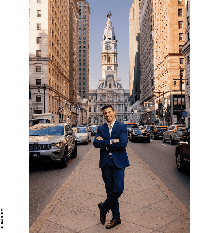 Jonathan Lovitz wants Philadelphia to be a thriving center for opportunity and growth, but will he succeed?