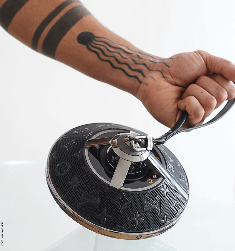 Louis Vuitton Introduces a Speaker With Style
