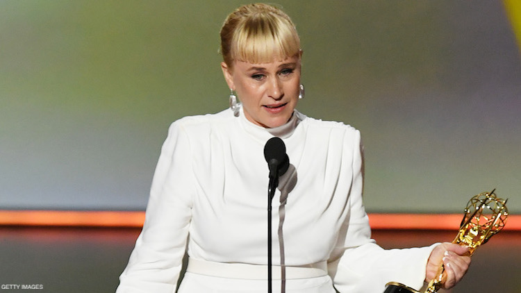 Patricia Arquette Calls for Trans Equality in Emmy Acceptance Speech