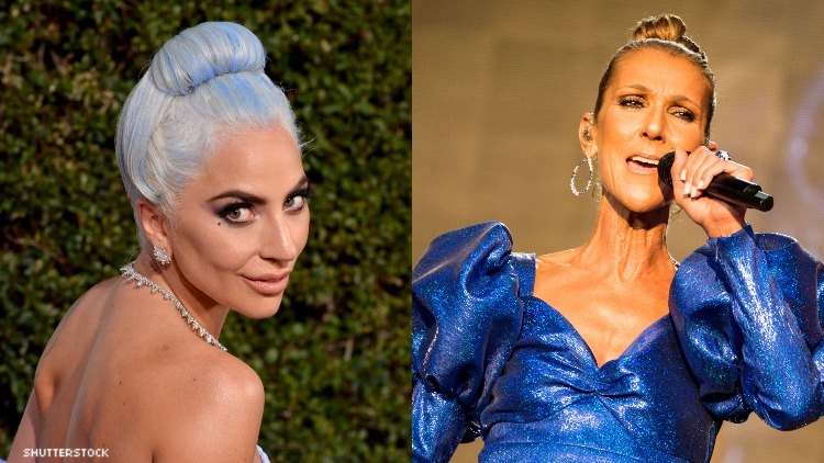 Gaga and Celine Dion