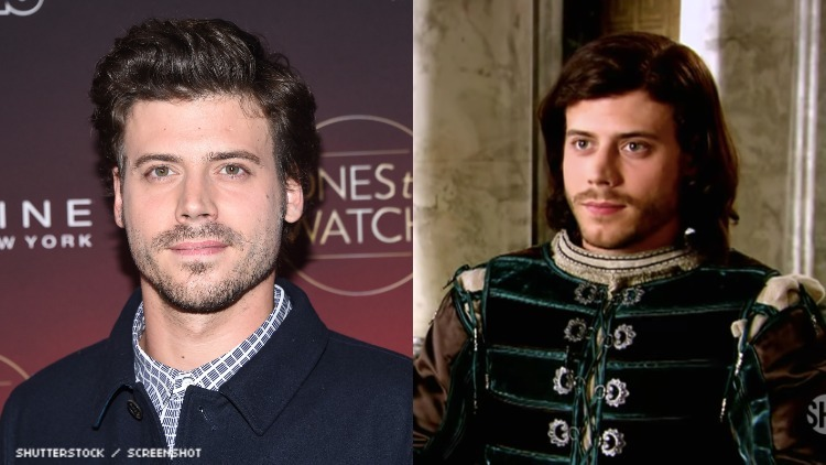 """Francois Arnaud, star of Showtime's """"The Borgias"""" came out as bisexual in time for Bi Visibility Day"""
