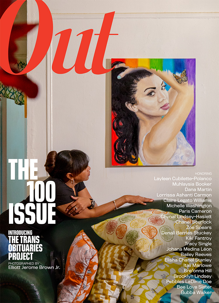 Out100 Cover: The Trans Obituary Project
