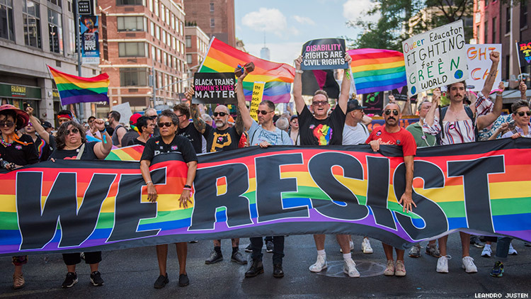 Queer Liberation March image.