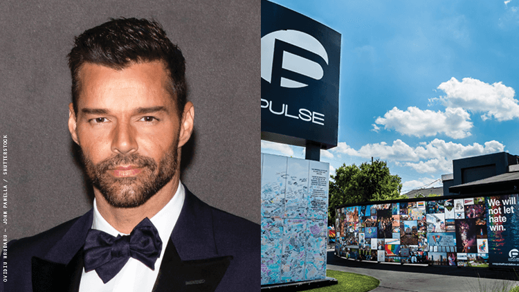 Ricky Martin to Help Raise Funds for Pulse Memorial and Museum