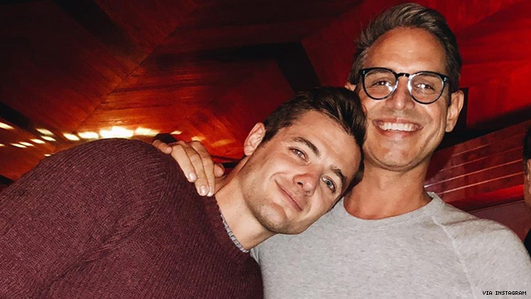 Robbie Rogers and Greg Berlanti