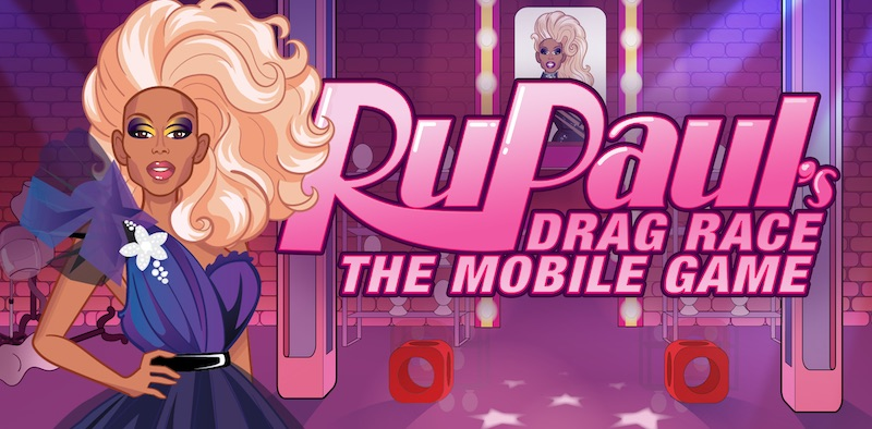 RuPaul in Drag Race the mobile game.
