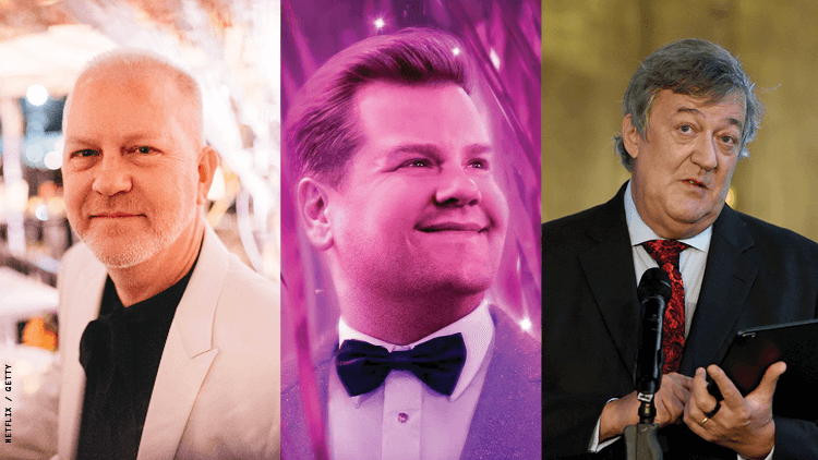 Stephen Fry Says James Corden's 'Prom' Role Was Ryan Murphy's Fault