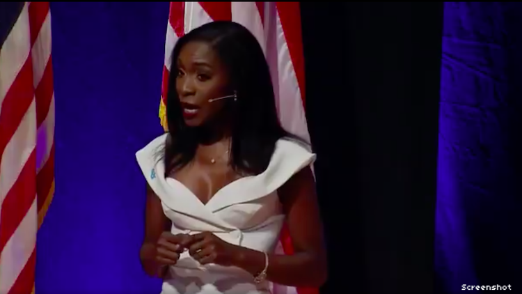 Angelica Ross at the LGBTQ Forum