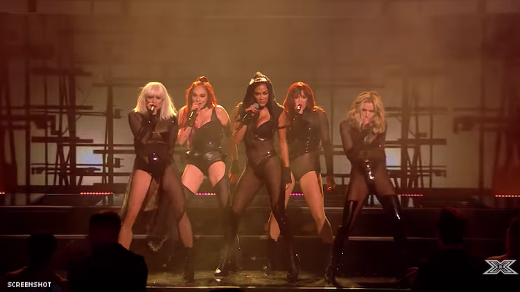 The Pussycat Dolls Ate Their 'X Factor' Reunion Performance