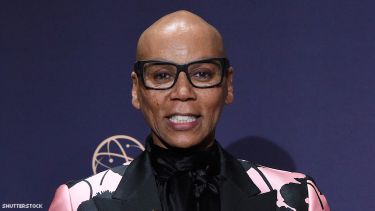 RUPAUL ON A RED CARPET
