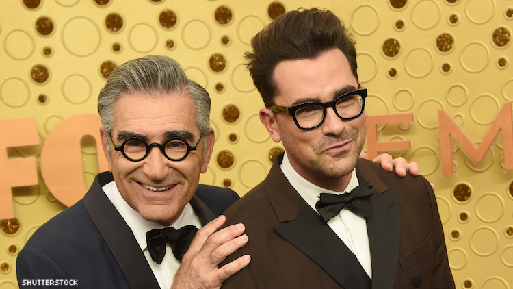 Dan and Eugene Levy