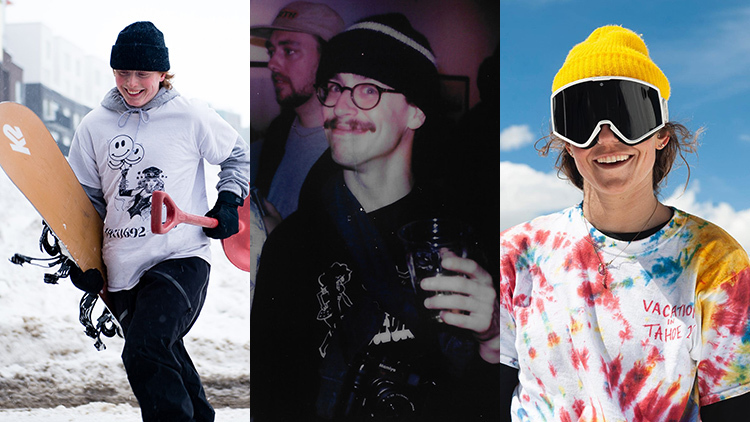 Snowboarders Jill Perkins, Chad Unger, Kennedi Decks reveal they are gay.