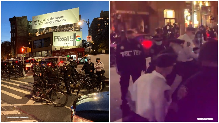 Police Abuse, Arrest LGBTQ+ Protestors at Stonewall March in NYC