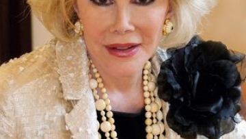 Quote of the Day: Joan Rivers on Gay Men and Fashion