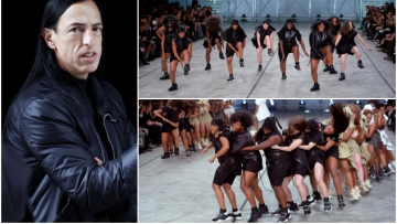 WATCH: Rick Owens Makes Fashion History With His Female Step Team
