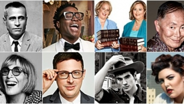 Out100: Behind the Scenes With George Takei, Laverne Cox, Mary Lambert, Steve Grand!