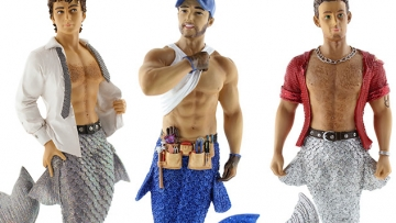 Decorate Your Christmas Tree With Shirtless Mermen