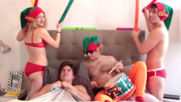 EXCLUSIVE: Nick Adams & The Skivvies Do Christmas