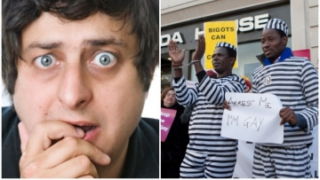 Call the Ugandan President a Ding-Dong-Boob-Poopy with Eugene Mirman