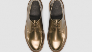 Daily Crush: Copper Shoes by Dr. Martens
